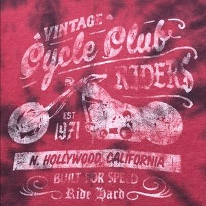 Other - Tie dye Vintage cycle club Riders